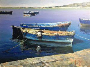 A. Patrisi Boats cm 60x80