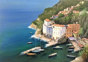 A.Iannicelli-Conca dei Marini (Amalfi) cm 70x100
