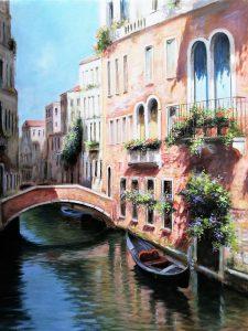 M.Irace Venice cm30x40