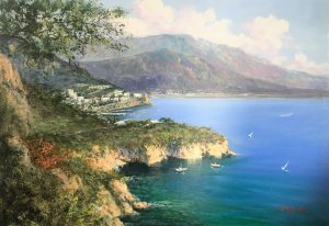 P.Esposito Sorrento coast cm 70x100 -