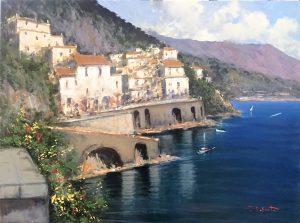 P.Esposito 60x80cm Amalfi