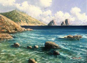 P.Esposito 60x80cm Capri