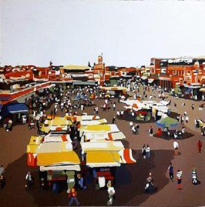 Manzo 100x100 N 5 Marrakech