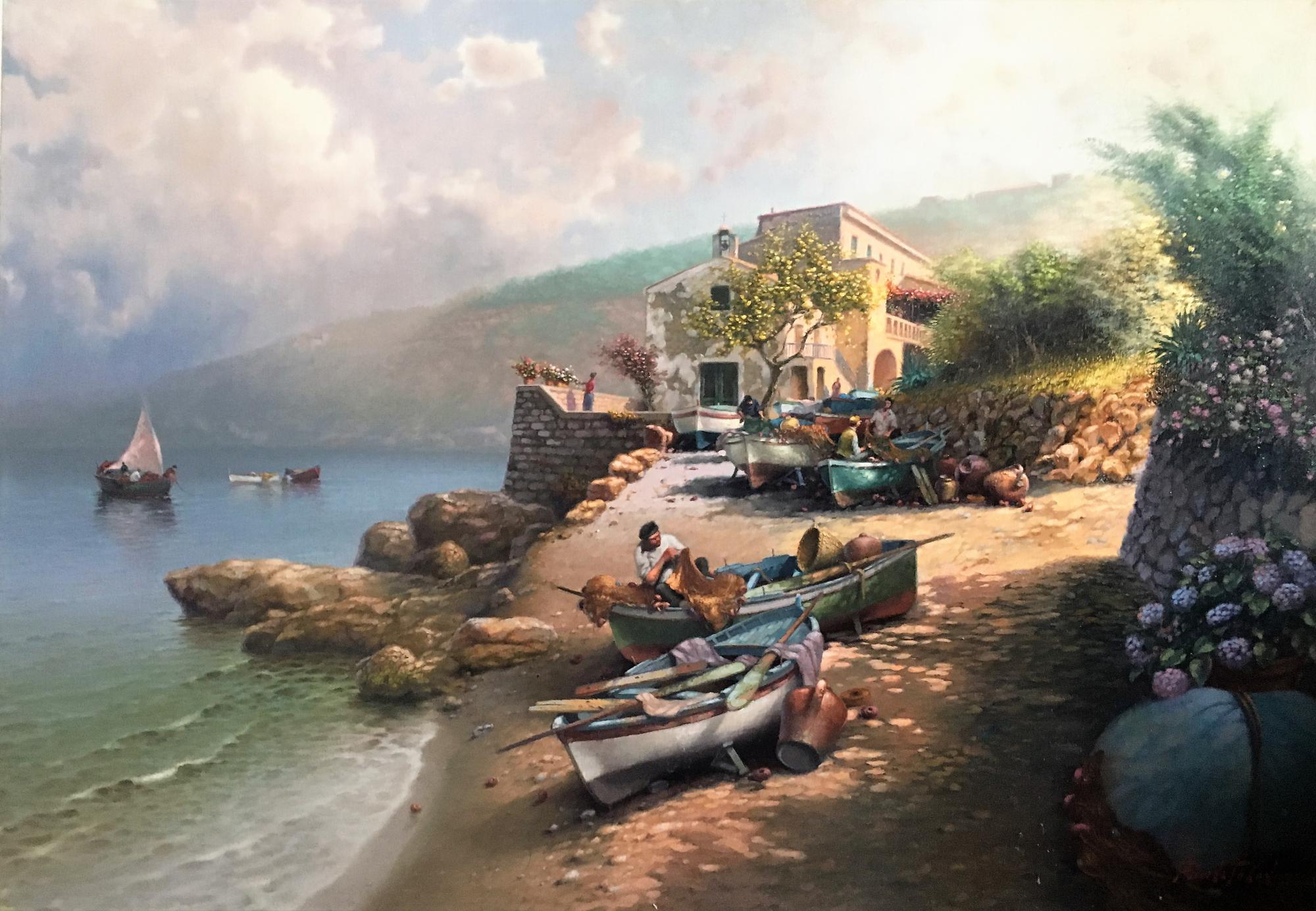 A. Colucci- Palinuro beach-cm 70x100