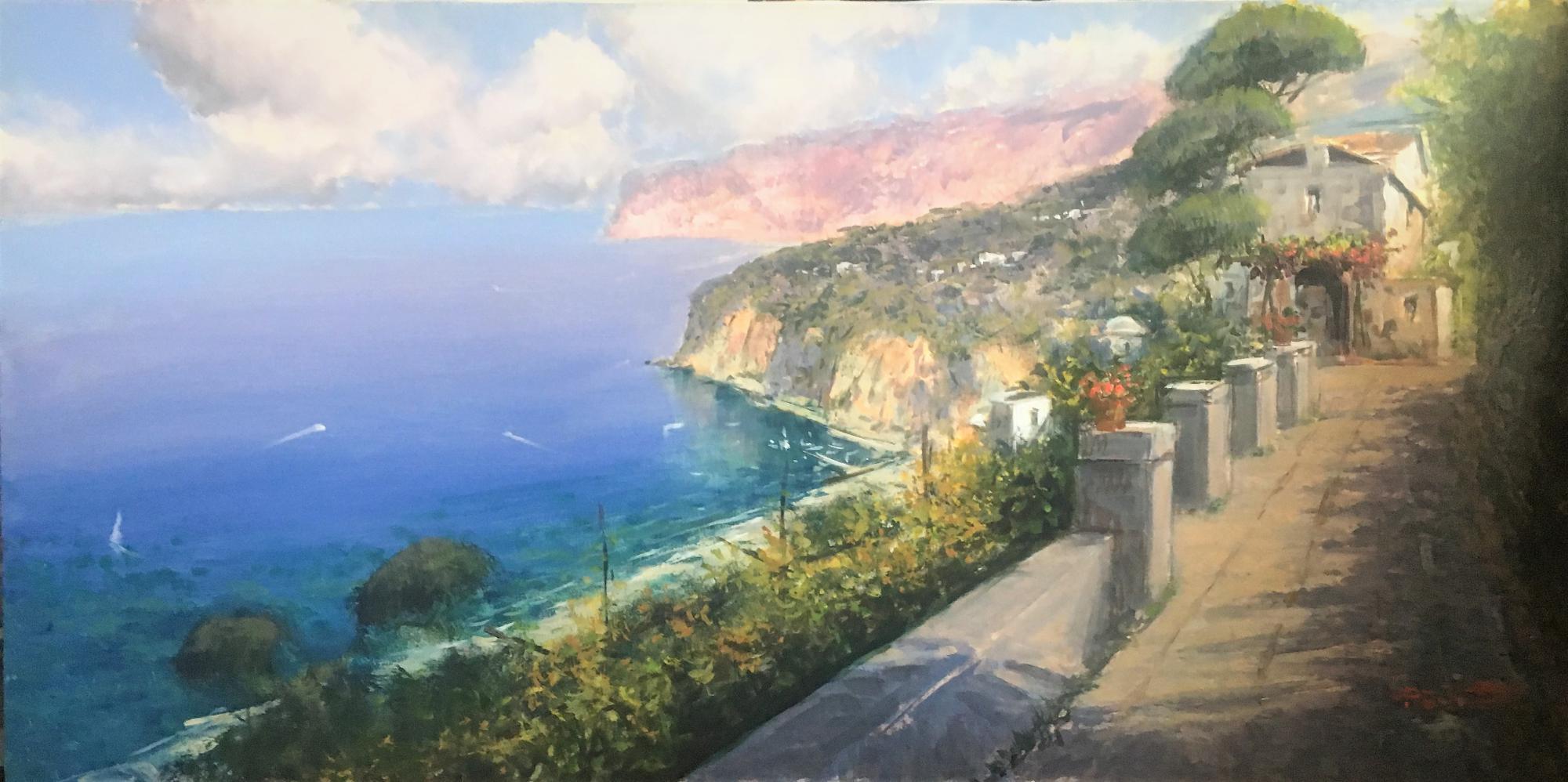 P.Esposito 60x120 cm  Sorrento view