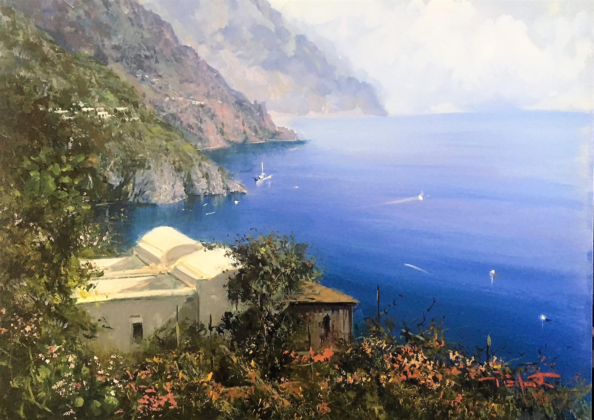 P.Esposito 60x80cm Amalfi coast