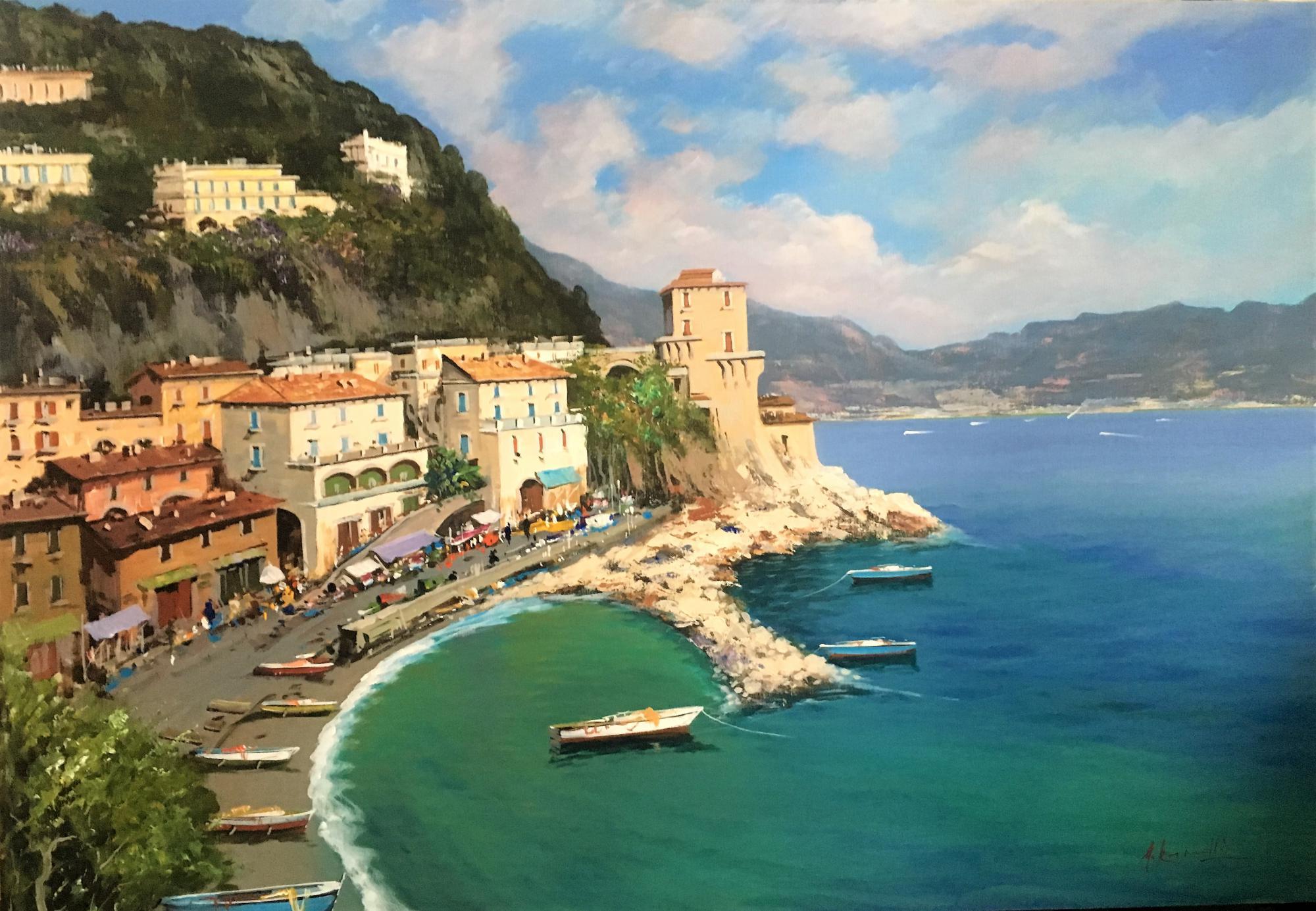 A.Iannicelli-Cetara (Amalfi) cm 70x100