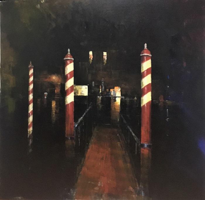 A. Patrisi  Venice by night cm 80x80